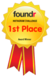 1st place foundr ig challenge